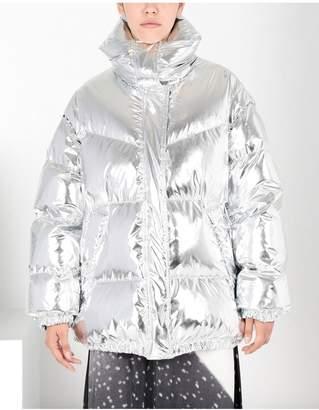 Maison Margiela Silver Puffer Sports Jacket