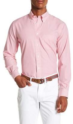 Brooks Brothers Mini Stripe Long Sleeve Sport Fit Shirt
