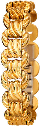 Bruno Magli Textured Link Bracelet, Golden