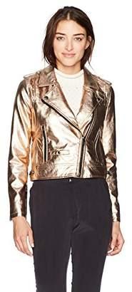 Blank NYC [BLANKNYC] Women's Vegan Leather Jacket