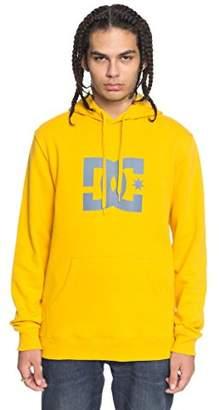 DC Men's Star Pullover Hoodie Sweatshirt