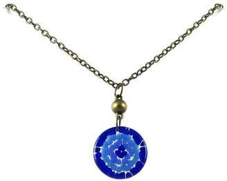 Maku Mosaic Medallion Necklace