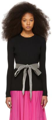 Marc Jacobs Black Belt Sweater