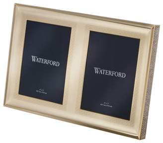 Waterford Lismore Diamond Double Picture Frame