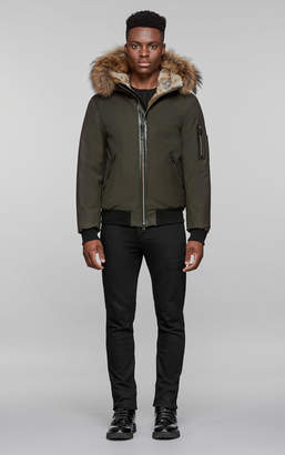 Mackage FULTON hooded winter bomber with fur