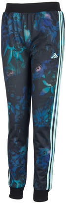 adidas Little Girls Printed Tricot Jogger Pants