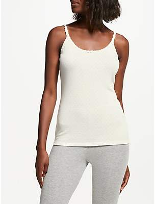 242ca73b1243 at John Lewis and Partners · John Lewis & Partners Thermal Camisole, Ivory