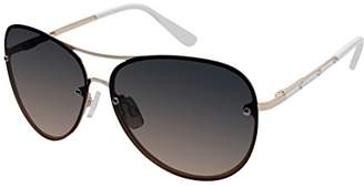 Elie Tahari Women's Th651 Rgdwh Aviator Sunglasses