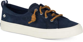 Sperry Women's Crest Vibe Memory-Foam Lace-Up Sneakers Women's Shoes