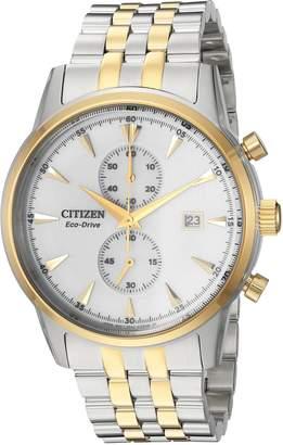 Citizen Men's CA7004-54A Eco-Drive Analog Display Japanese Quartz Two Tone Watch