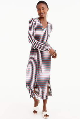J.Crew J. Crew for Bubble Sleeve Jersey Maxi Dress (Regular & Plus Size)
