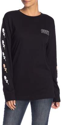 Obey Records Long Sleeve Tee