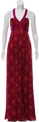 Laundry by Shelli Segal Silk Printed Dress w/ Tags