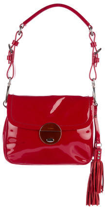 prada Prada Vernice Shoulder Bag