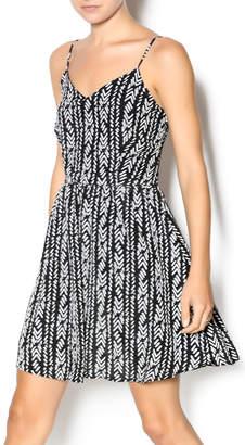 Wish Black Herringbone Dress $92 thestylecure.com