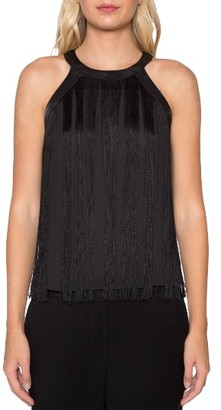 Women's Willow & Clay Fringe Tank $79 thestylecure.com
