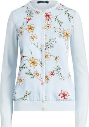 Ralph Lauren Floral-Print Cardigan