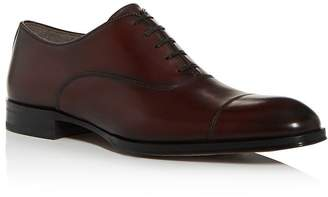 To Boot Men's Lavery Leather Cap-Toe Oxfords