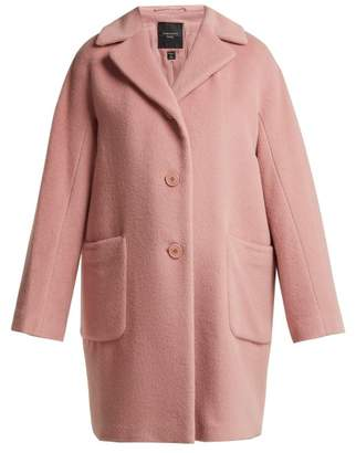 Max Mara Green Coat - Womens - Pink