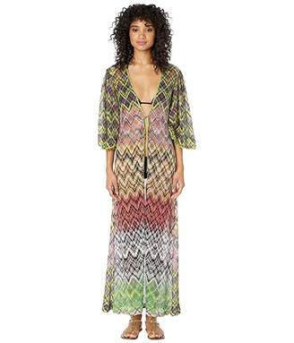 1acf619d6a Missoni Mare Lurex Net Long Cardigan Cover-Up