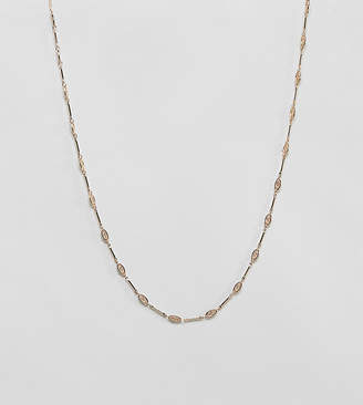 Charm & Chain Rock 'N' Rose gold charm chain necklace