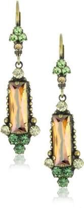 "Sorrelli Volcano"" Crystal Bar Earrings"