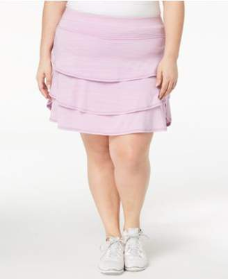 Macy's Ideology Plus Size Ruffled Skort, Created for