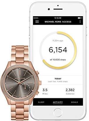Michael Kors Hybrid Rose Gold Slim Runway Smartwatch MKT4005
