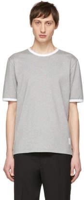 Thom Browne Grey Ringer T-Shirt
