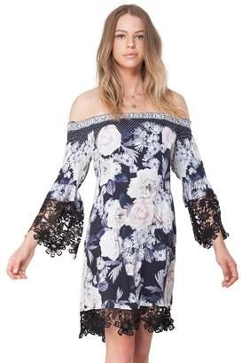 Hale Bob Alexandra Satin Woven Dress