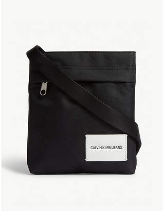 Calvin Klein Logo messenger bag