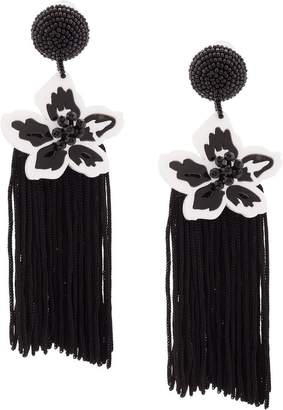 Sachin + Babi beaded floral earrings
