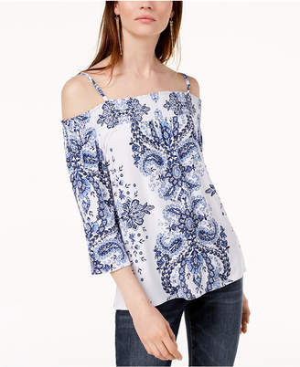 INC International Concepts I.n.c. Off-The-Shoulder Top, Created for Macy's