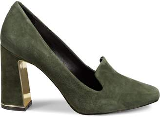 Karl Lagerfeld Paris Gracie Suede Pumps