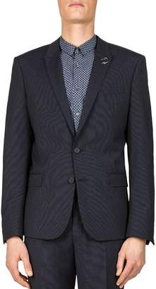 The Kooples Dotted Stripe Slim Fit Sport Coat