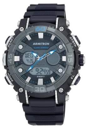 Armitron Men's Sport Round Watch, Navy