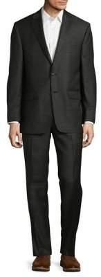 Lauren Ralph Lauren Slim-Fit Olive Wool Suit
