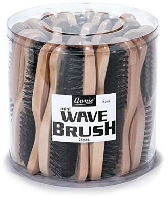 Annie Mini Wave Brush Bulk, Hard Bristles, 24 Count $34.41 thestylecure.com