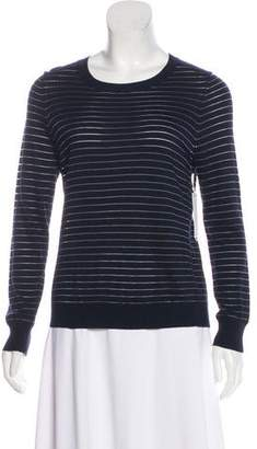J Brand Striped Long Sleeve Sweater w/ Tags