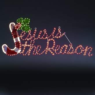 The Holiday Aisle 'Jesus Is The Reason' Decorative Light Motif