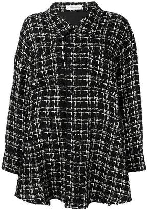 Faith Connexion loose tweed coat