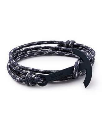 Miansai Modern Anchor Rope Bracelet, Navy $70 thestylecure.com