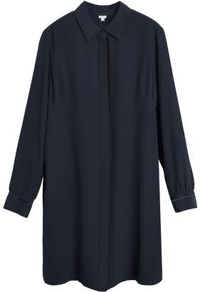 Cuyana Silk Shirt Dress