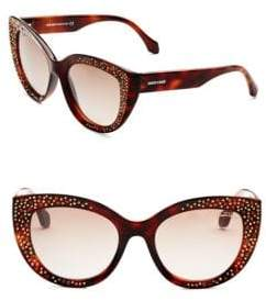 Tom Ford 54MM Crystal-Embellished Cat Eye Sunglasses