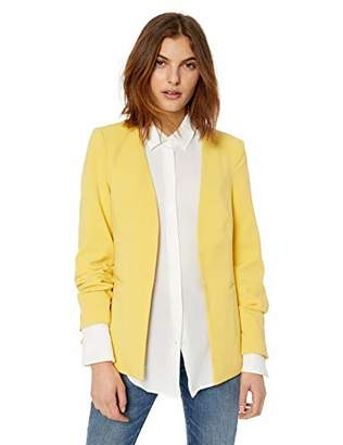 Vero Moda Women's Anna Long Sleeve Collarless Blazer