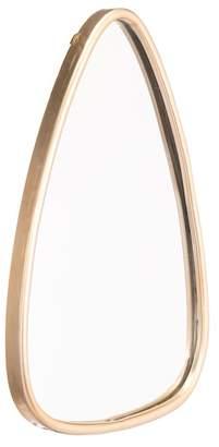 ZUO Modern Tear 1 Gold Mirror