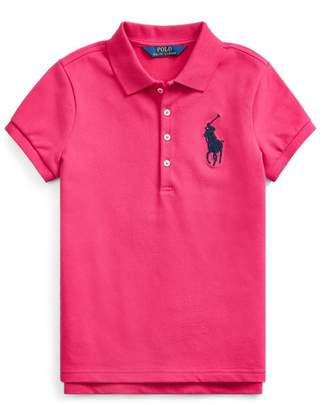 Ralph Lauren Big Pony Stretch Mesh Polo