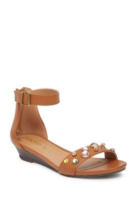 Kenneth Cole Reaction Great Vibe Embellished Wedge Sandal