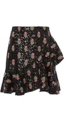 Giambattista Valli Sequin Mini Skirt