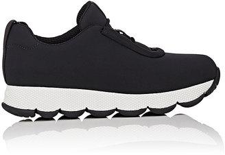 Prada Linea Rossa Women's Neoprene Sneakers $670 thestylecure.com